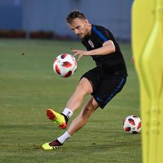 Born and raised in Switzerland, Ivan Rakitic is crucial for Croatia's World Cup dream