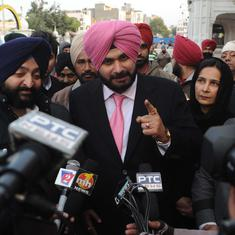 Navjot Singh Sidhu says his friend Imran Khan has sent message for peace between India and Pakistan