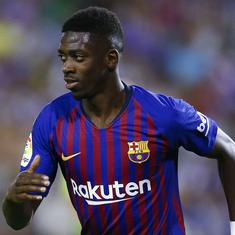Dembele puts Barcelona on top of La Liga table with Villarreal win as Sevilla, Atletico are held