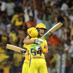 Seventh heaven: Chennai Super Kings clinch a thriller against Sunrisers to reach IPL 2018 final