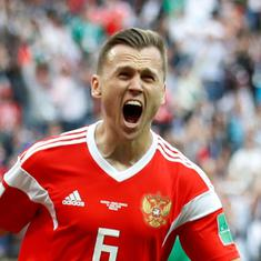 Spain's anti-doping agency opens probe into Russian World Cup hero Denis Cheryshev