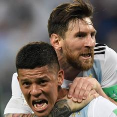 World Cup: Messi, Rojo score as Argentina live to fight another day with 2-1 win against Nigeria