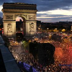 'It's so beautiful what's happened': Paris celebrates France's march to the World Cup final