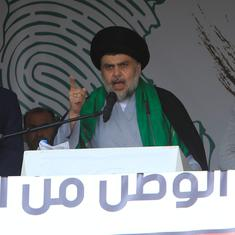 Shia'ite cleric from Iraq urges Bashar al-Assad to step down but criticises US strikes in Syria