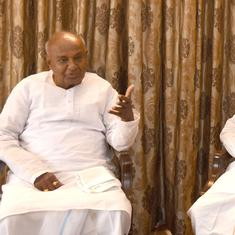 Karnataka: HD Deve Gowda blames Siddaramaiah for collapse of Congress-JD(S) coalition