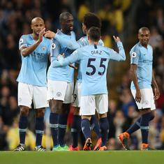 Champions Manchester City smash Premier League points record during 3-1 win over Brighton