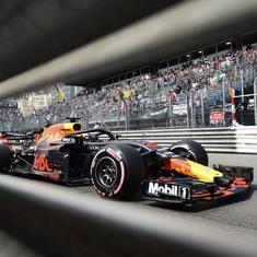 F1: Ricciardo breaks Monaco Grand Prix lap record as Red Bull dominate second practice