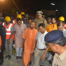 Varanasi flyover collapse: Uttar Pradesh government suspends four officials