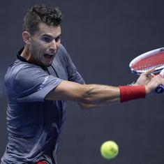 China Open: Dominic Thiem fights back in semis, books his place year-end ATP Finals