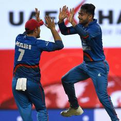 Asia Cup 2018, India vs Afghanistan as it happened: Rashid dismisses Jadeja; match ends in a tie