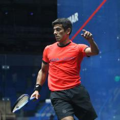 Saurav Ghosal to lead Indian challenge at CCI International Squash tournament