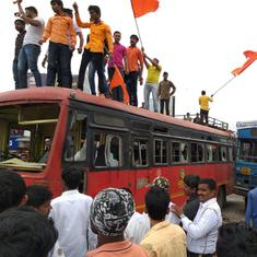 Maratha quota agitation: Shutdown called off in Mumbai, Navi Mumbai, Thane and Parli on Thursday