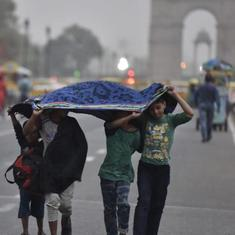 Met department forecasts thunderstorm with light rain in Delhi, national capital region