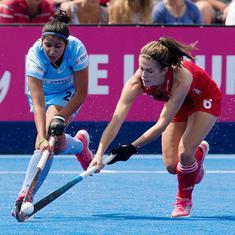 महिला हॉकी विश्वकप : भारत और इंग्लैंड का मुकाबला बराबरी पर छूटा