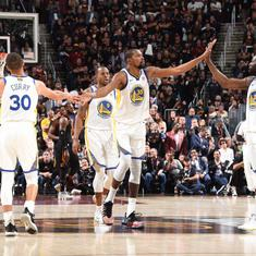 NBA Finals: Kevin Durant bags 43 points as Golden State Warriors take a 3-0 lead
