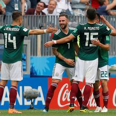 Fifa World Cup: Lozano's goal condemns clueless Germany to opening game loss against Mexico