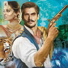 What's 150 years old, French, set in India, has a tigress, and is very racy? This novel