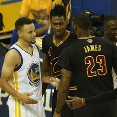 NBA finals: LeBron James-led Cleveland Cavaliers look to topple fancied Golden State Warriors