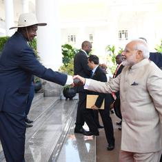 Uganda: India is emerging as a global manufacturing hub, says Narendra Modi