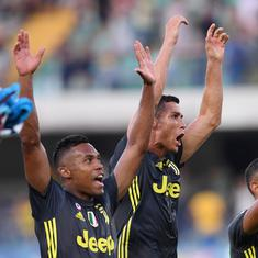 Serie A: Cristiano Ronaldo doesn't score but Juventus pull off a thrilling 3-2 win in league opener