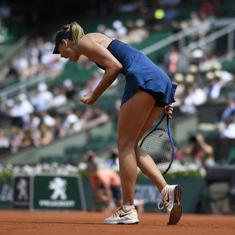 French Open, day 7, women's roundup: Serena-Sharapova set up round of 16 clash; Kvitova knocked out