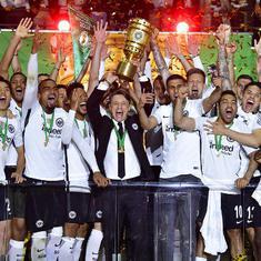 Eintracht Frankfurt pull off stunning win over Bayern Munich to lift German Cup