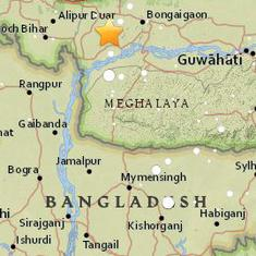 Several mild earthquakes strike Assam, Haryana, and Jammu and Kashmir