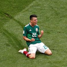 Seismic win? Lozano's goal to defeat Germany may have caused an 'artificial earthquake' in Mexico