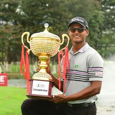 Bangalore Masters: India's Madappa wins first Asian Tour title at 20