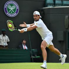 Wimbledon day 4 men's roundup: Pella stuns 3rd seed Cilic, Nadal, Djokovic power through