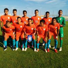 Football: India under-19's go down 0-2 to France U-19 in four-nation tournament