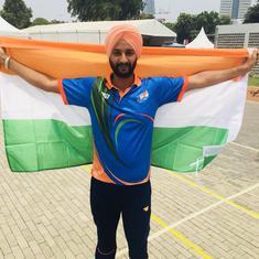 पैरा एशियाई खेल : तीरंदाज हरविंदर सिंह ने भारत को सातवां स्वर्ण पदक दिलाया