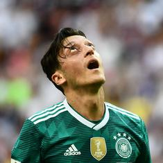 German FA boss rejects Ozil racism charge, but admits failure to protect midfielder from abuse