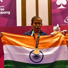 Bridge: Happiest day of my life, says Bardhan - oldest gold medallist at the 2018 Asian Games