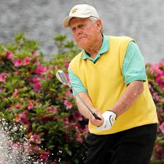 Golf great Jack Nicklaus reveals he has recovered from coronavirus after testing positive in March