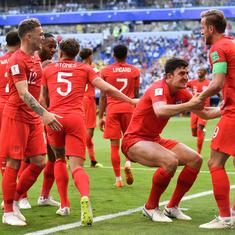 World Cup quarter-final, as it happened: Maguire and Alli goals give England the win over Sweden