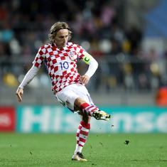 Russia 2018, Group D, Croatia v Nigeria as it happened: Modric and Co record comfortable 2-0 win