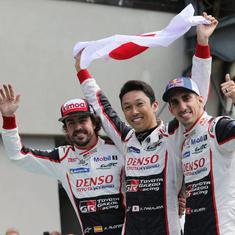 Fernando Alonso's Toyota wins Le Mans 24 Hours as triple crown edges closer