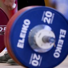 Several Indian weightlifters caught for doping violation, confirms federation