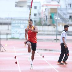 Athletics: Pole vaulter Rakesh Gond sets new youth national record