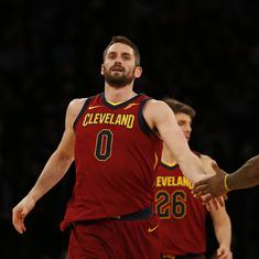 'He's still in the concussion protocol': Cleveland's Kevin Love doubtful for Finals opener