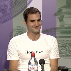 'I'm more concerned the World Cup final will have issues with Wimbledon': Federer on timings clash