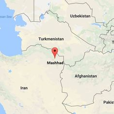 Earthquake measuring 6.1 on Richter scale strikes near the city of Mashhad in Iran