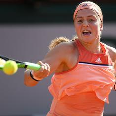 Tennis: Ostapenko to face Kontaveit, De Minaur takes on Sonego in  Eastbourne final