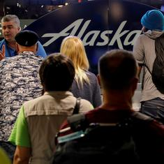 Alaska Airlines flight crashes after being 'stolen' from Seattle airport, no passengers on board