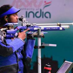 National shooting selection trials: Elavenil Valarivan pips Mehuli Ghosh in women's 10m air rifle
