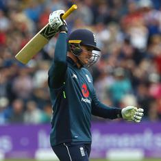 Jason Roy smashes ton as England beat Australia by six wickets in fourth ODI