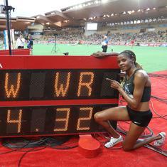 Kenya's Beatrice Chepkoech breaks 3,000m steeplechase world record at Monaco Diamond League