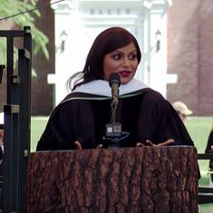 Watch: Mindy Kaling's commencement speech at Dartmouth was equal doses funny and inspirational