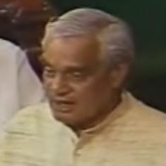 Watch: Five speeches that prove Atal Bihari Vajpayee was one of India's most effective orators